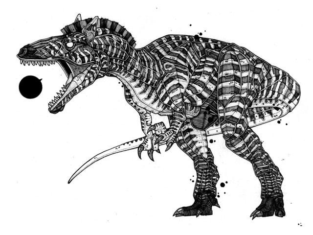 Zebrasaur